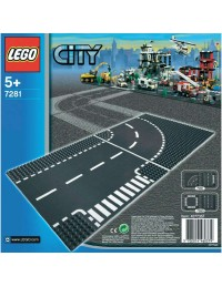 LEGO City odcinek prosty i skrzyżowanie 7280