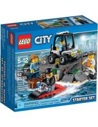 LEGO City 60127 Więzienna Wyspa - zestaw startowy 2016
