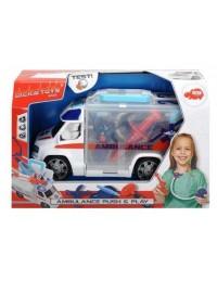 DICKIE Ambulans 33 cm z zestawem lekarskim
