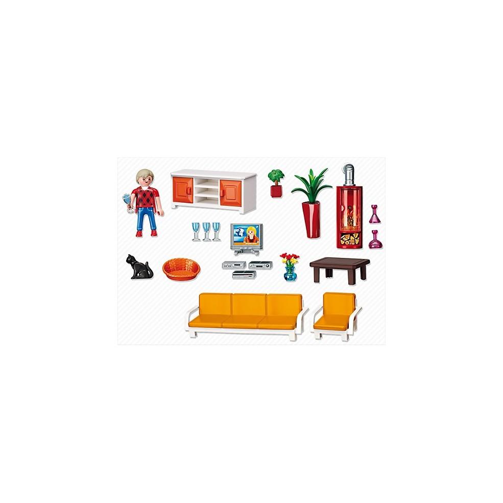 Playmobil 5332 przytulny pok j dzienny babyland lodz - Playmobil wohnzimmer 5332 ...