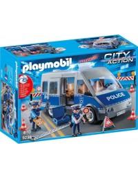 Playmobil Samochód Policyjny z blokadą 9236