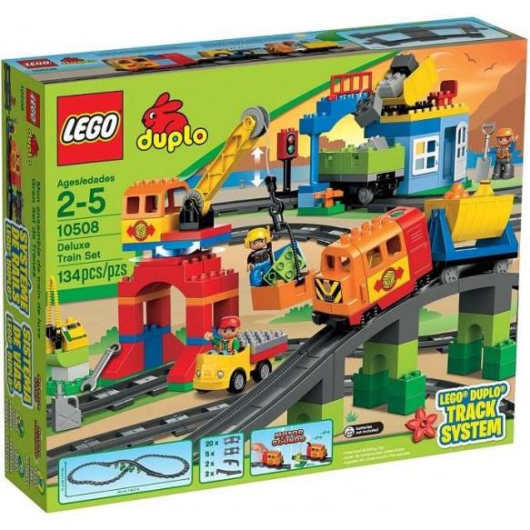 Lego,10508 Pociąg DUPLO  Zestaw Deluxe