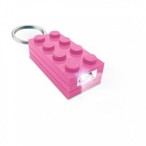 Latarka LEGO KEY LIGHT KLOCEK RÓŻOWY LGL-GT