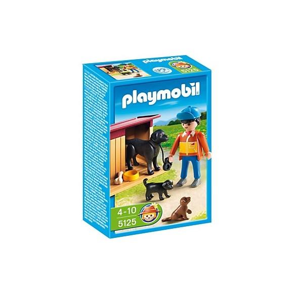 Playmobil 5125 Pies podwórkowy ze szczeniakami