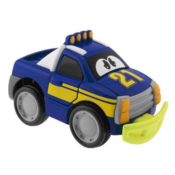 Chicco Samochód Turbo Touch Crash niebieski