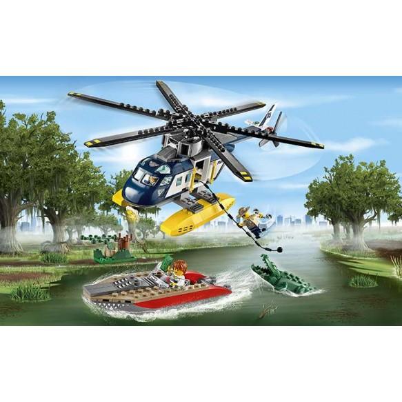 LEGO CITY 60067 Pościg śmigłowcem
