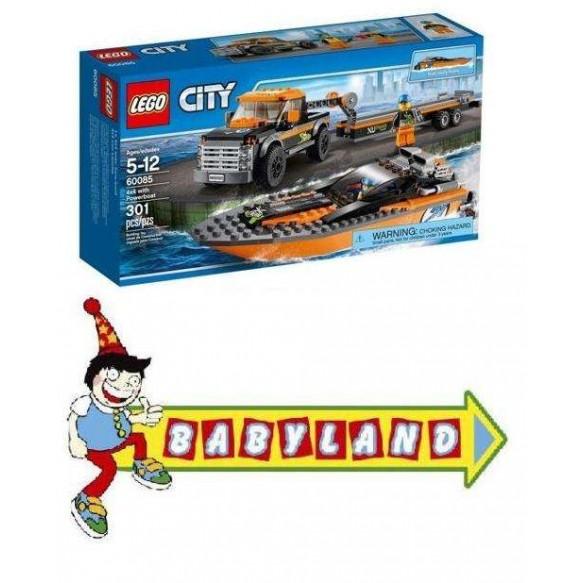 Lego City 60085 Terenówka z motorówką
