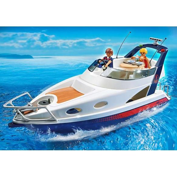 PLAYMOBIL 5205 Luksusowy jacht.GRATIS X 2 FIGURKI