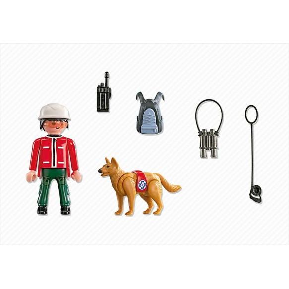 Playmobil 5431 Ratownik górski z psem ratowniczym