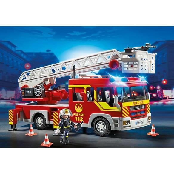 Playmobil 5362 Samochód strażacki z drabiną, światłem i dźwiękiem