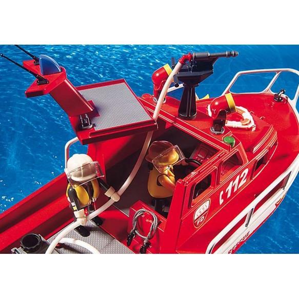 Playmobil 3128 Łódź strażacka z armatką wodną