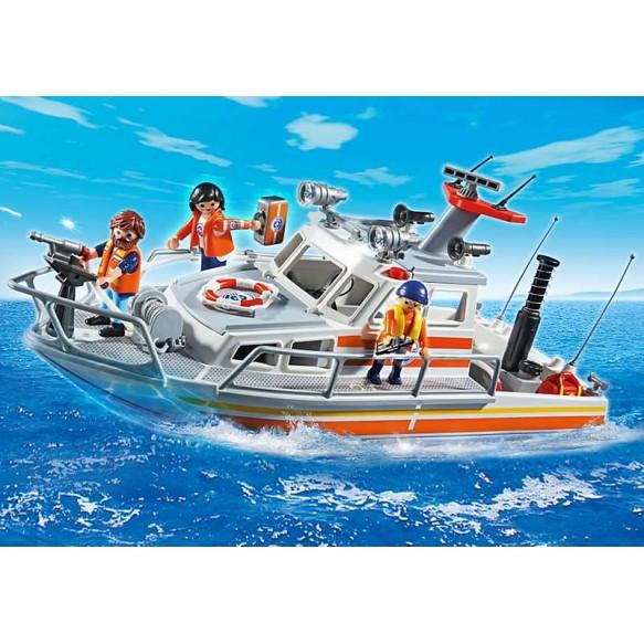 Playmobil 5540 Statek ratownictwa przybrzeżnego