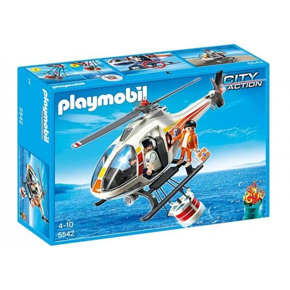 Playmobil 5542 Helikopter gaśniczy