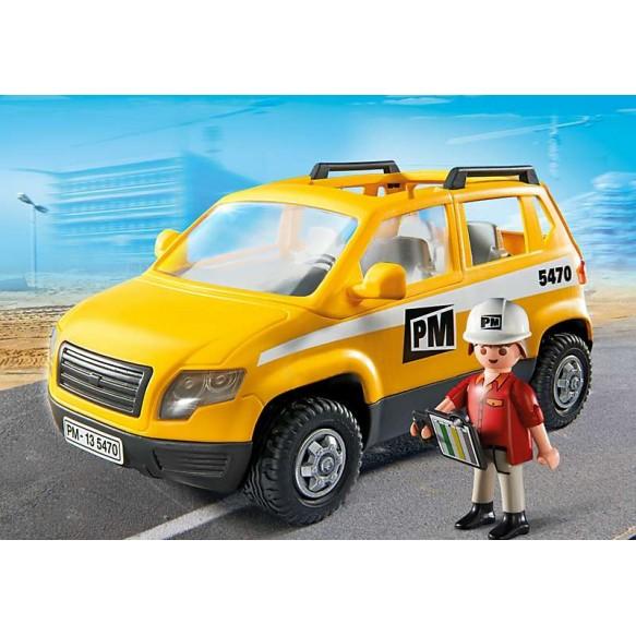 Playmobil 5470 Pojazd kierownika budowy