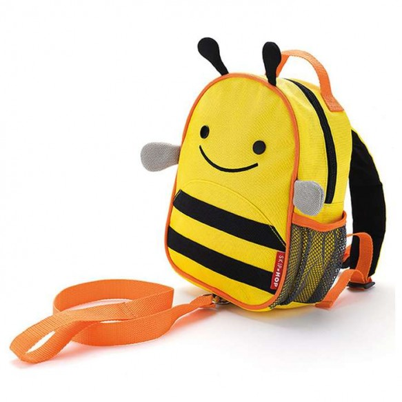 SKIP HOP Plecak ze smyczą Baby Zoo Pszczoła