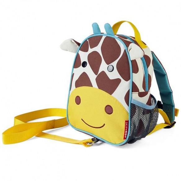 SKIP HOP Plecak ze smyczą Baby Zoo Żyrafa