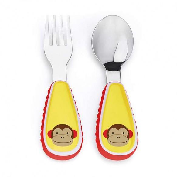SKIP HOP Sztućce dla dzieci Zoo Małpa
