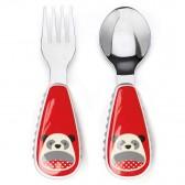 SKIP HOP Sztućce dla dzieci Zoo Panda