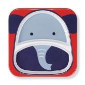 SKIP HOP Talerz dla dziecka Zoo Słoń