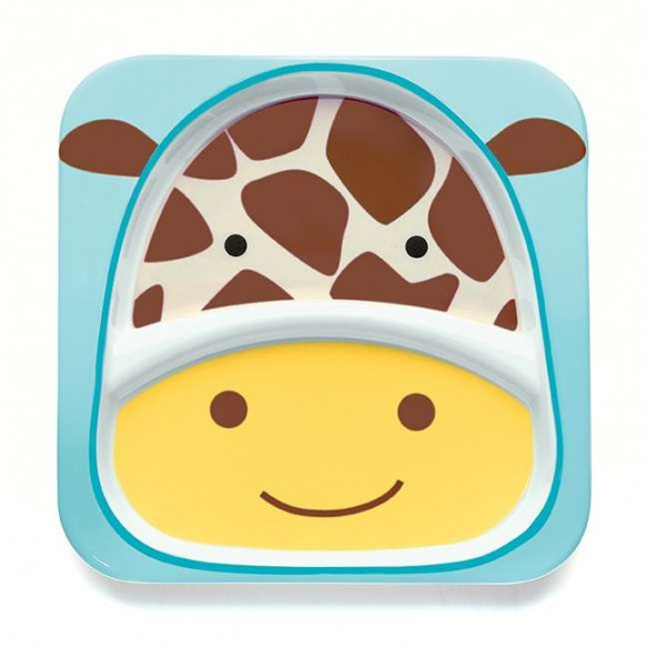 SKIP HOP Talerz dla dziecka Zoo Żyrafa