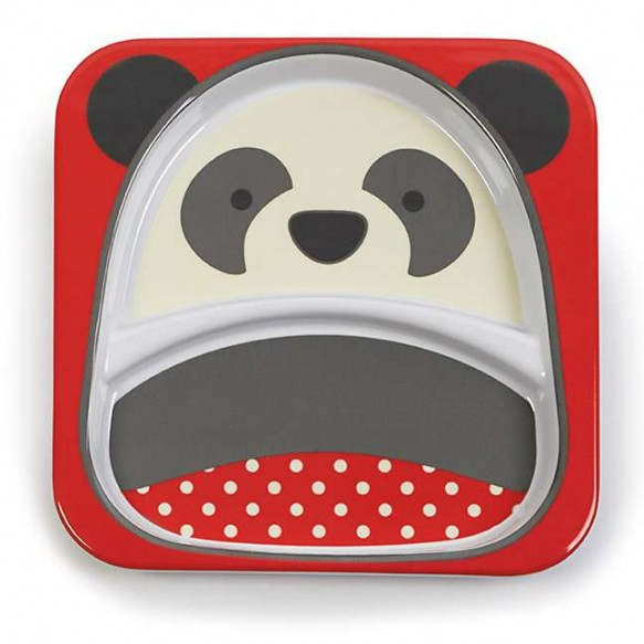 SKIP HOP Talerz dla dziecka Zoo Panda