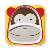 SKIP HOP Talerz dla dziecka Zoo Małpa