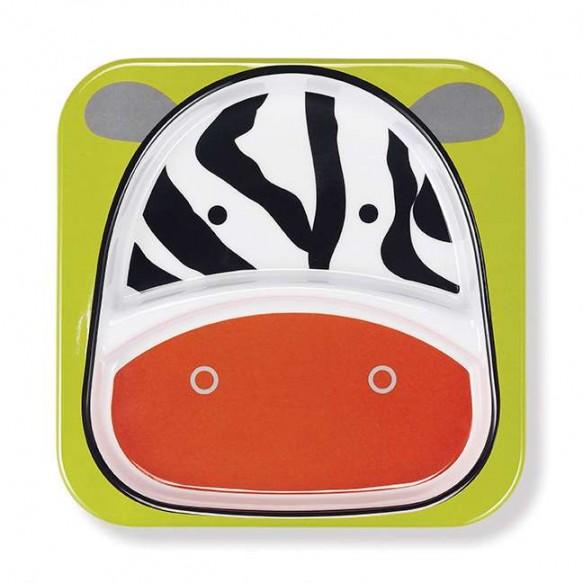 SKIP HOP Talerz dla dziecka Zoo Zebra