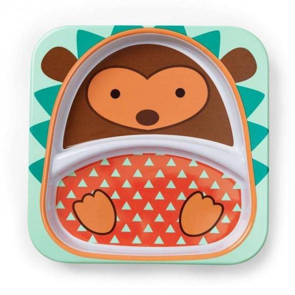 SKIP HOP Talerz dla dziecka Zoo Jeż