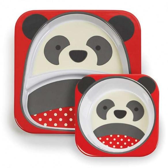 SKIP HOP Miseczka i talerzyk Zoo Panda