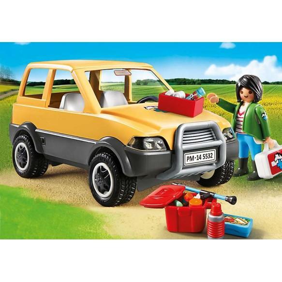 Playmobil 5532 Lekarka weterynarii z samochodem