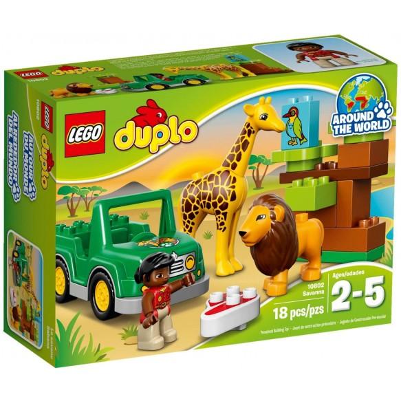 LEGO Duplo 10802 Sawanna 2016