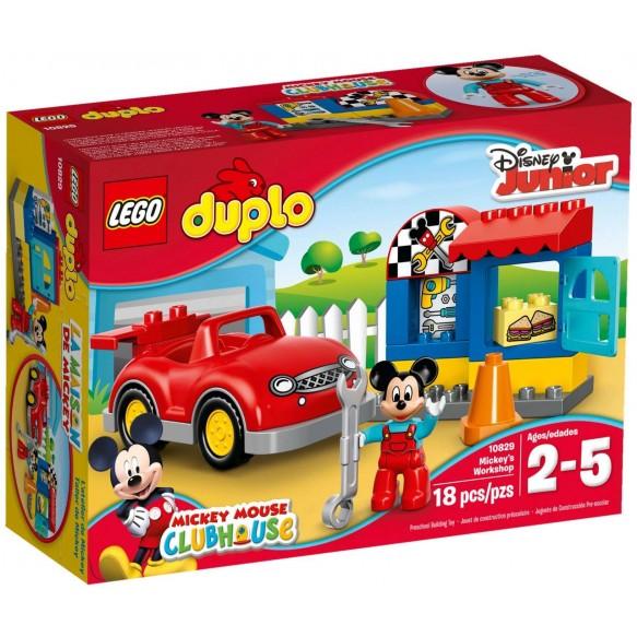 LEGO Duplo 10829 Warsztat Myszki Mickey 2016