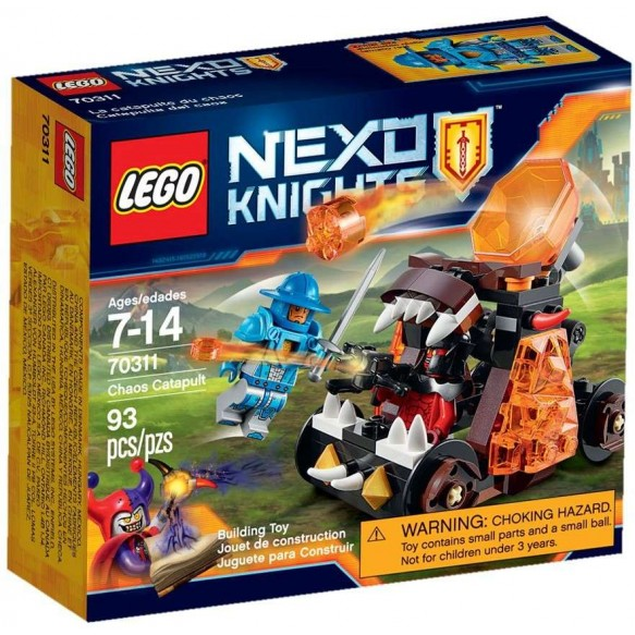 LEGO Nexo Knights 70311 Katapulta Chaosu 2016