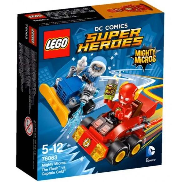 LEGO DC Universe Super Heroes 76063 Flash kontra Kapitan Cold 2016