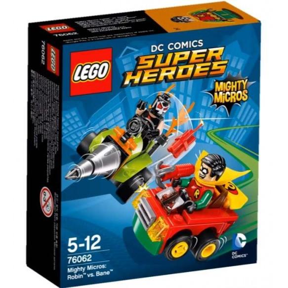 LEGO DC Universe Super Heroes 76062 Robin kontra Bane 2016