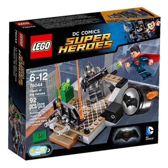 LEGO DC Universe Super Heroes 76044 Wyzwanie bohaterów 2016
