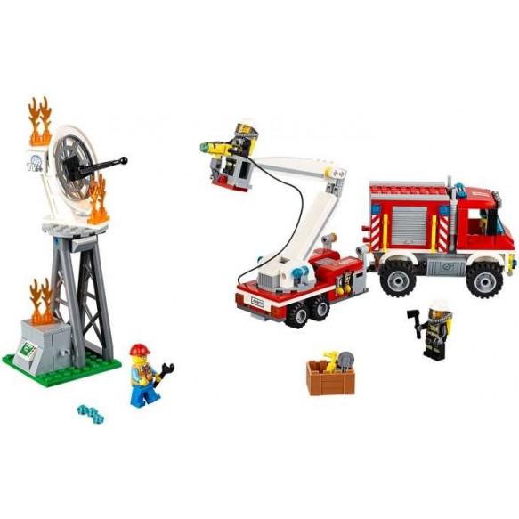 LEGO City 60111 Strażacki wóz techniczny 2016