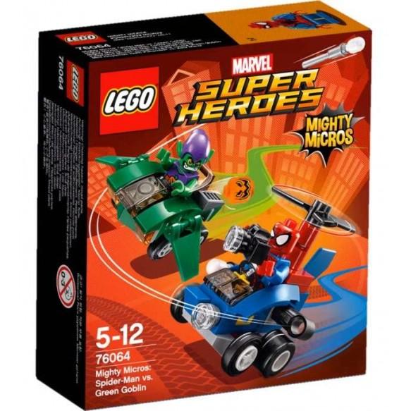 LEGO Marvel Super Heroes 76064 Spiderman kontra Zielony Goblin
