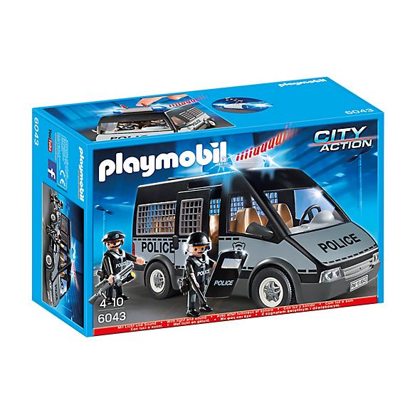 Playmobil 6043 Samochód policyjny GRATIS X 2 FIGURKI