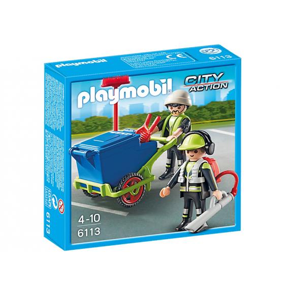 PLAYMOBIL 6113 Zespół sprzątający miasto 2016