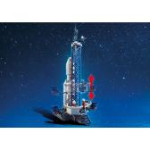 Playmobil Kosmos 6195 Rakieta kosmiczna ze stacja bazową