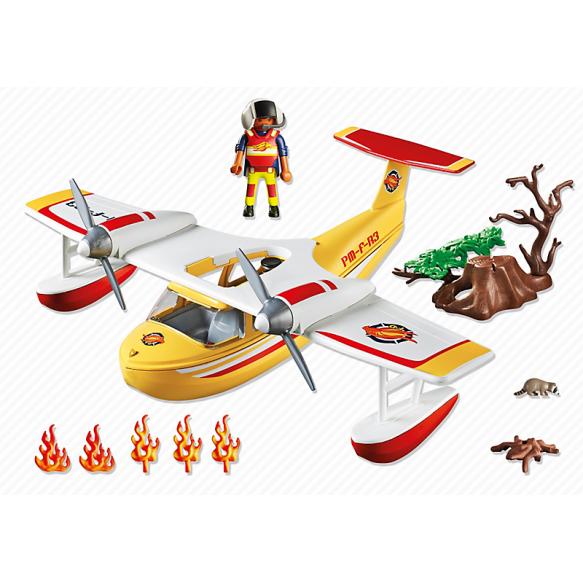 PLAYMOBIL 5560 Samolot gaśniczy