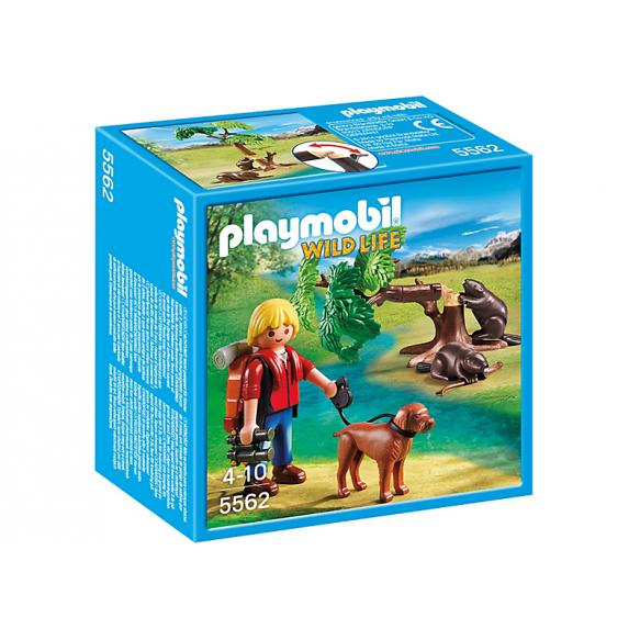 PLAYMOBIL 5562 Drzewo z bobrami i przyrodnikiem 2016