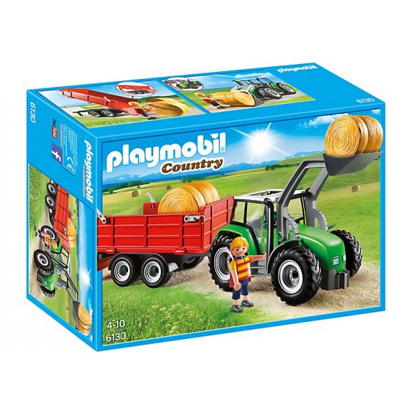 PLAYMOBIL 6130 Duży traktor z przyczepą 2016