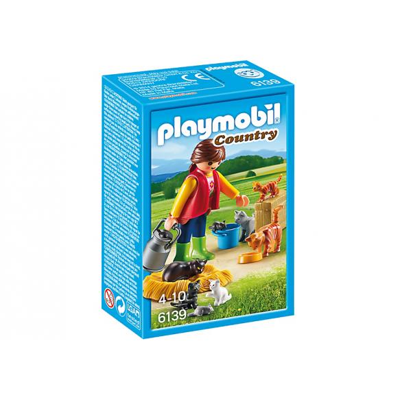 PLAYMOBIL 6139 Rodzina kotów 2016