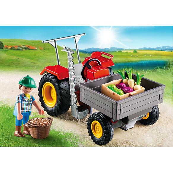 PLAYMOBIL 6131 Traktor ogrodniczy 2016