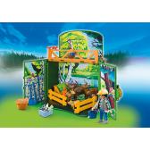 PLAYMOBIL 6158 Game Box Karmienie leśnych zwierząt 2016