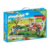 PLAYMOBIL 6147 SuperSet Wybieg dla koni z boksem