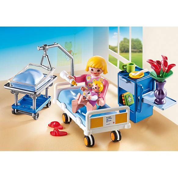 PLAYMOBIL 6660 Sala chorych z łóżkiem dla niemowlaka 2016