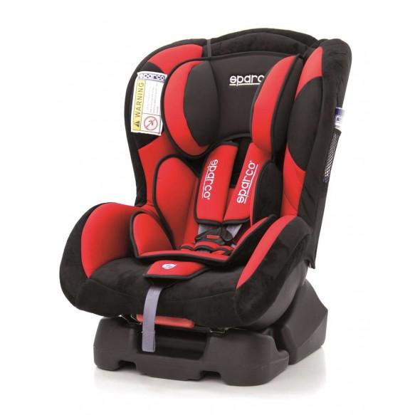 Fotelik samochodowy SPARCO F500K 0-18kg czerwony